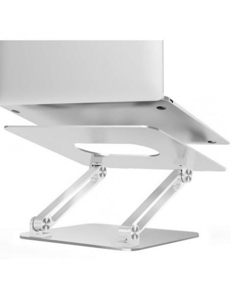 Suporte De Alumínio Regulagem De Altura Para Macbook Notebook