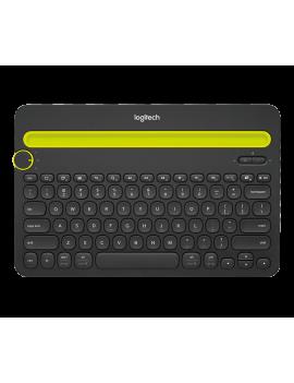 Teclado Bluetooth Logitech Com Apoio P/ Celular/Tablet K480