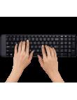 Teclado e Mouse sem fio Logitech MK220