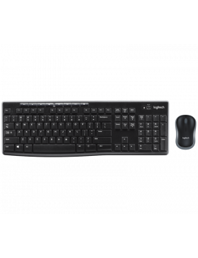 Teclado e Mouse sem fio Logitech MK270