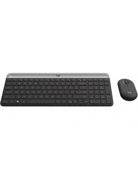 Teclado e Mouse sem Fio Silencioso Logitech MK470 US