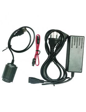 Adaptador de SATA e IDE p/ USB