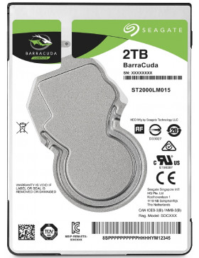 HD 2 TB SATA Notebook Seagate